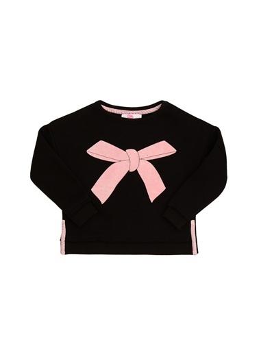 Pink&Orange Tişört Siyah